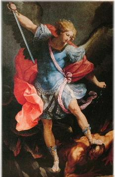 St. Michael the Archangel (Guido Reni,1635)
